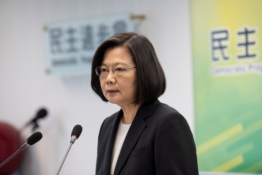 President and DPP Chair Tsai Ing-wen. (DPP photo)
