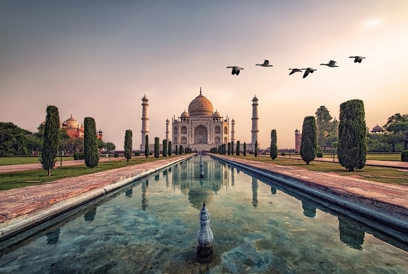 Taj Mahal in India (Getty Images photo)