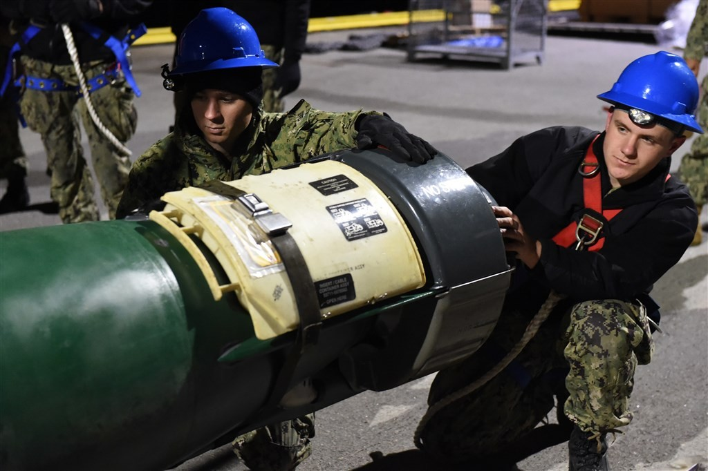 MK-48 torpedo (U.S. Navy photo)