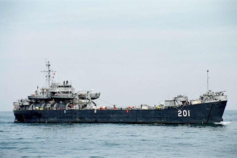 中海艦。(圖片載自中華民國海軍臉書)