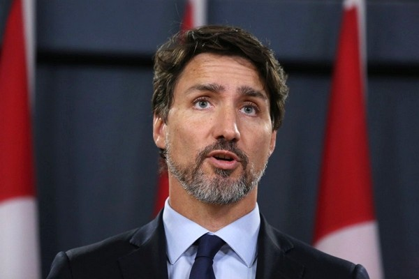 Justin Trudeau demands release of Michael Kovrig and Michael Spavor.