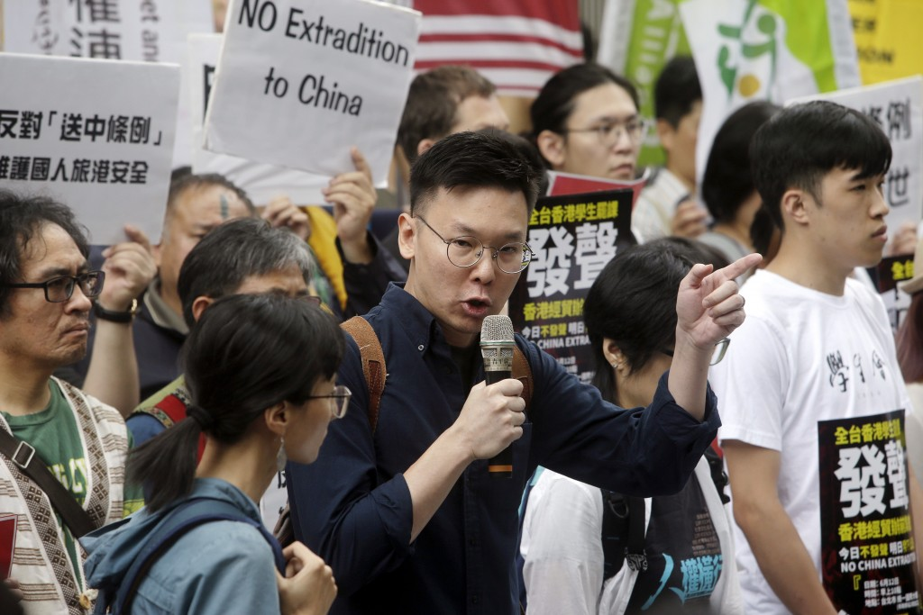 Protesters organize against China security law