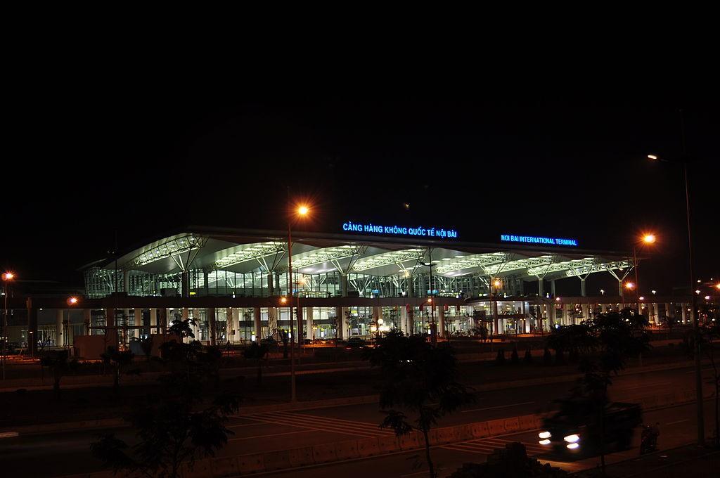 Hanoi's Noi Bai International Airport (Wikimedia Commons photo by Mina Christakis)