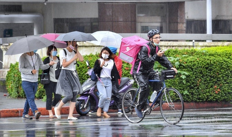 More rainfall forecast for Taiwan this week