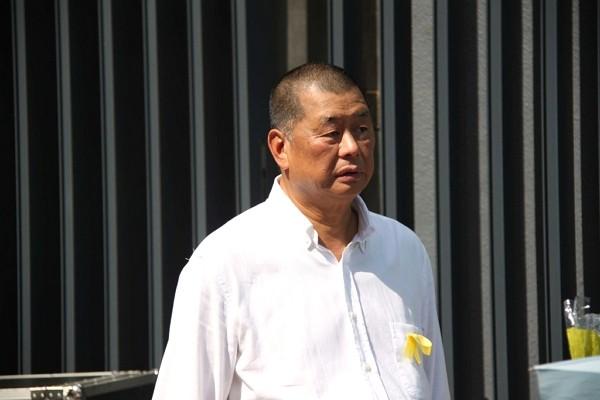 Hong Kong pro-democracy businessman Jimmy Lai.