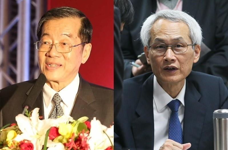考試院長黃榮村(左)與副院長周弘憲(右)。(中央社檔案照片)