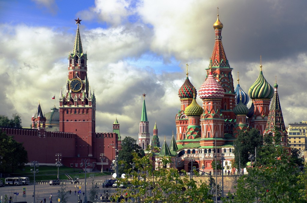 Saint Basil's Cathedral in Red Square, Moscow. (PublicDomainPicture.net)