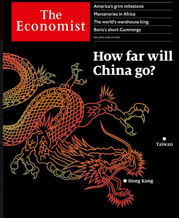 The latest Asia edition of The Economist (Facebook screenshot)