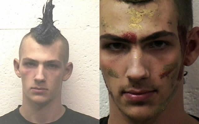 Mug shots of Nathan Rich. (Bernalillo County Compliance Office images)