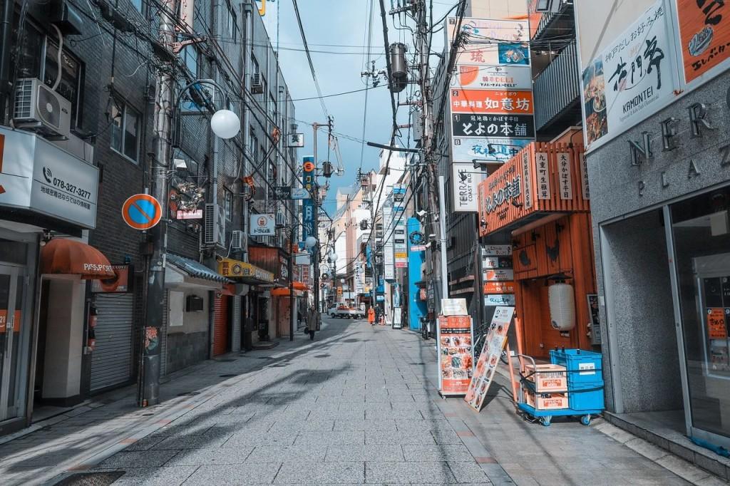 日本街景(圖/ pixabay)