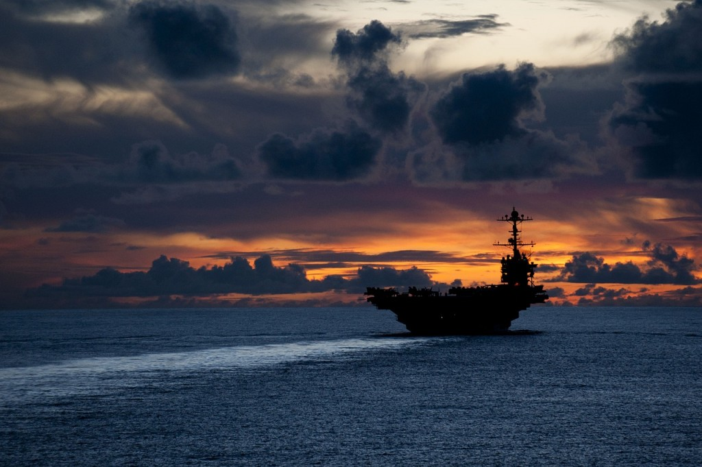 U.S. aircraft carrier (Pixabay photo)