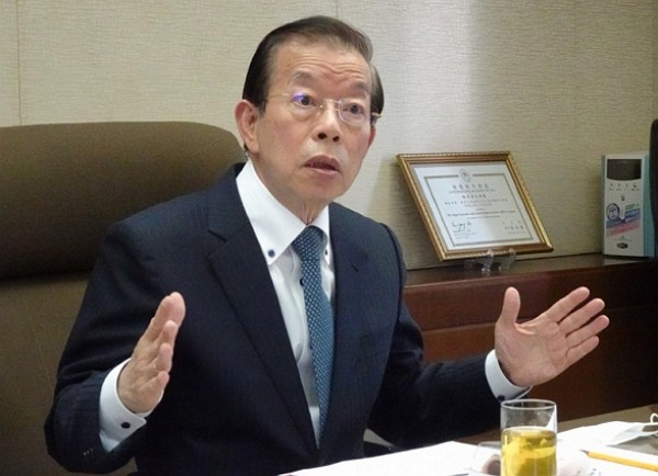 Taiwanese representative in JapanFrank Hsieh.