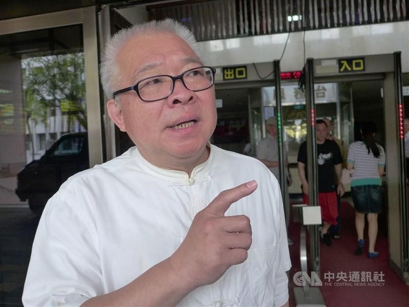 前立委朱高正(圖)之子朱仰丘,年初不幸意外身亡 (中央社檔案照片)