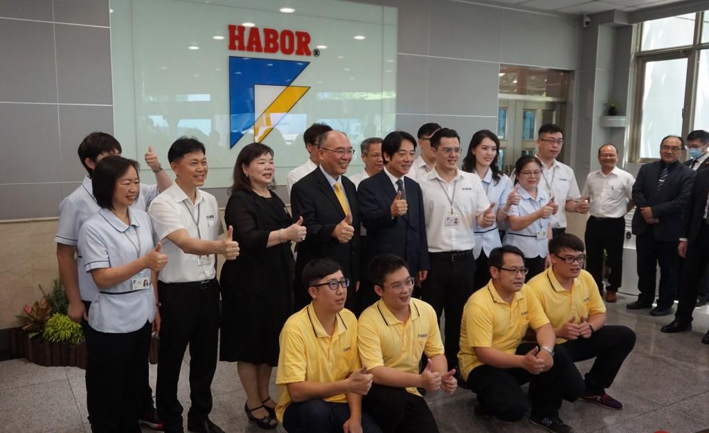 Vice President Lai visits Habor Precision