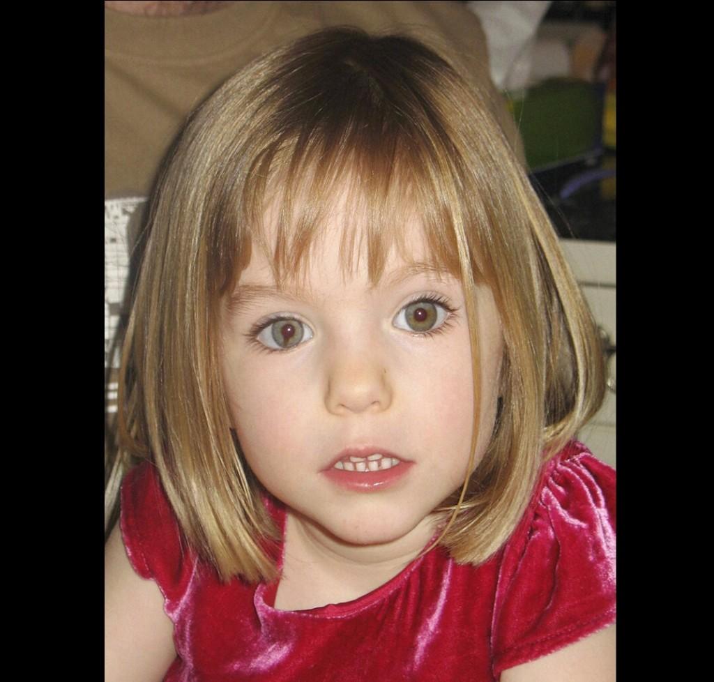 瑪德琳3歲時失蹤前生活照。(美聯社檔案照)