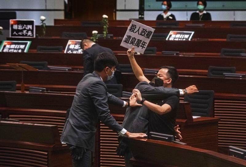 Hong Kong unable to mark Tiananmen anniversary