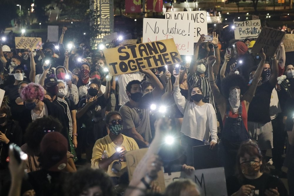 Protests for racial equality continue to erupt across the U.S.