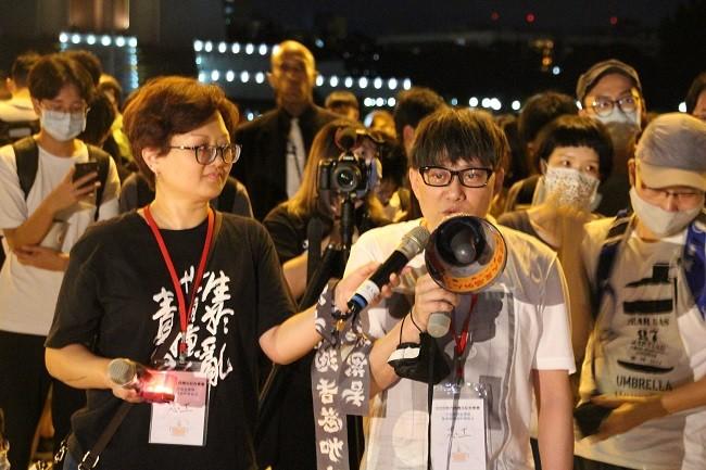 Taiwan holds Tiananmen vigil as China silences Hong Kong