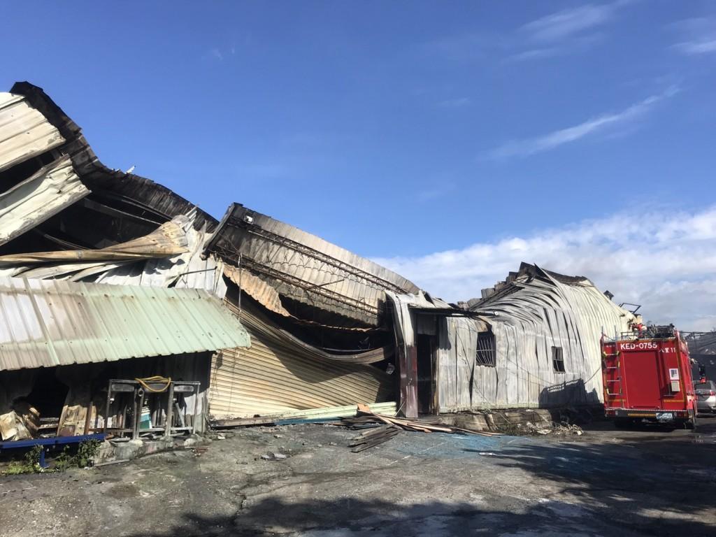 台灣紙風車劇團工作室大火損失粗估5000萬(圖/紙風車劇團)