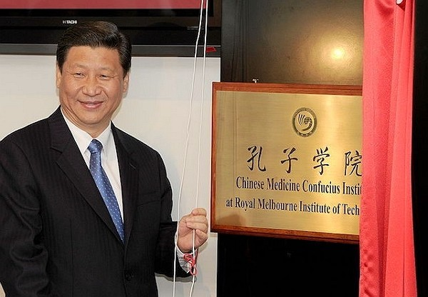Beijing-sponsored Confucius Institutes labeled as Chinese propaganda arm.