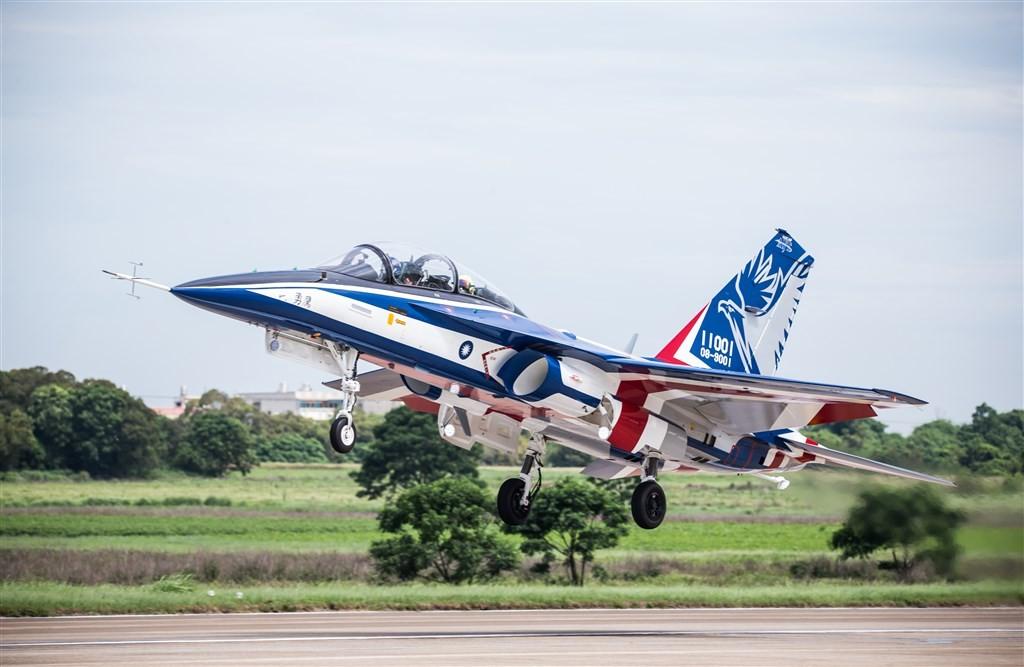 Brave Eagle taking off. (Ministry of National Defensephoto)