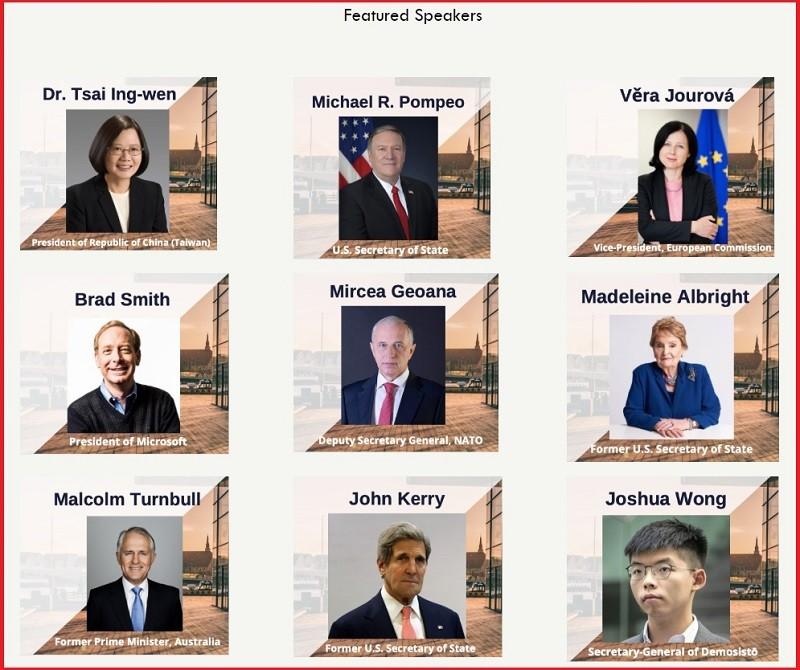 圖/「哥本哈根民主高峰會」官網