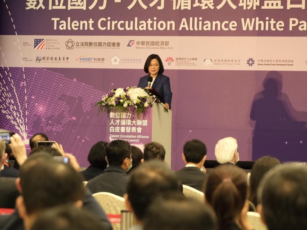President Tsai Ing-wen (Taiwan News, Teng Pei-ju photo)
