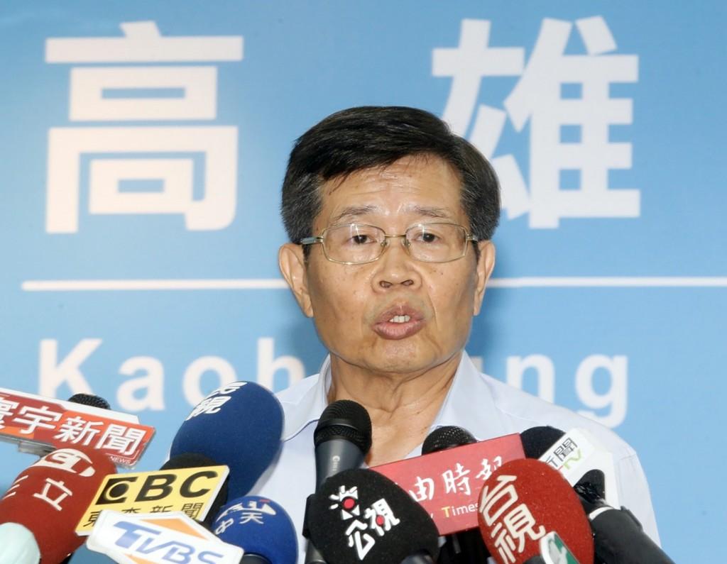 Kaohsiung City Interim Mayor Yang Ming-jou