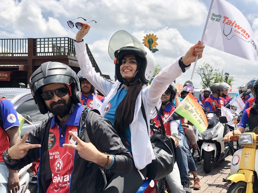 Indians in Taiwan launch motorcade to thank island for anti-coronavirus campaign