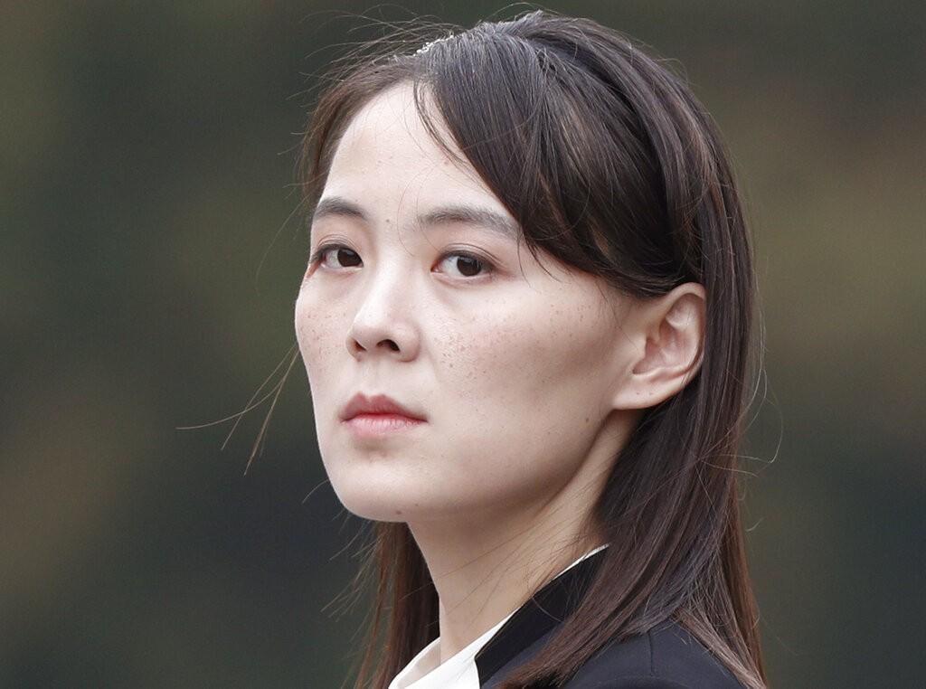 北韓領導人金正恩妹妹金與正(照片來源:美聯社提供)