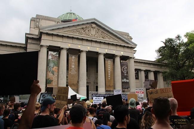 Solidarity Rally in Taipei.