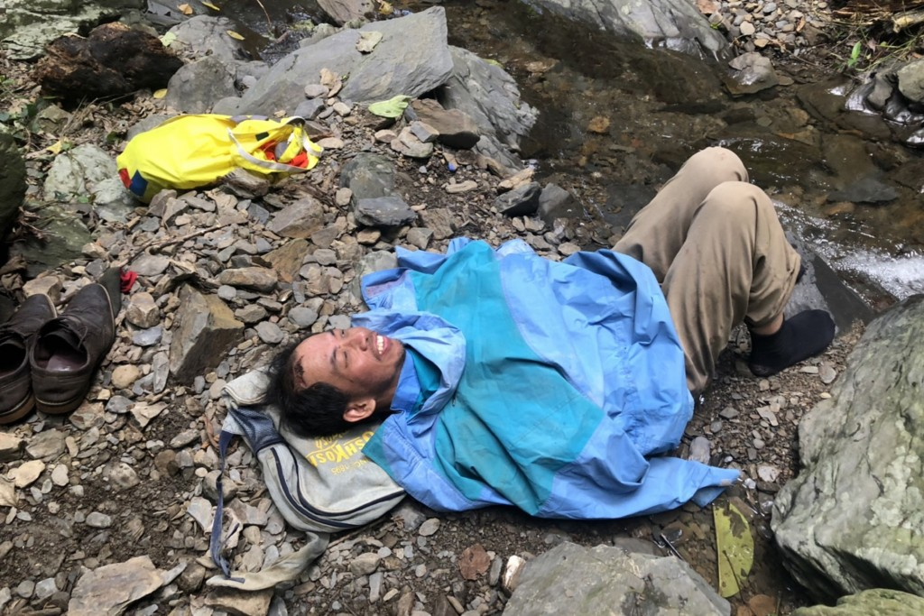A hiker was found alive Tuesday June 16, 10 days after going missing in the mountains of Pingtung County
