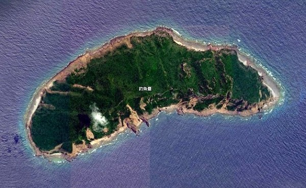 Sovereignty of Diaoyutai Islands disputed between Taiwan, Japan, and China.