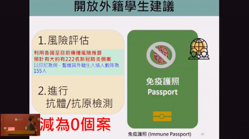 'Immunity passports' to fast-track foreign students in Taiwan urged