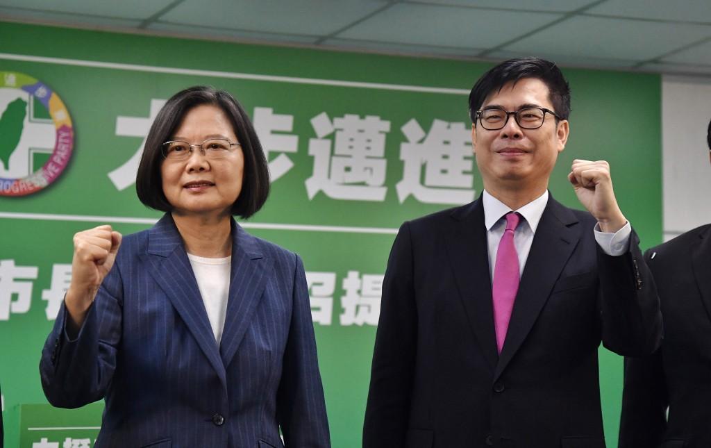 民進黨徵召陳其邁投入補選 蔡英文:台灣高雄贏回來!