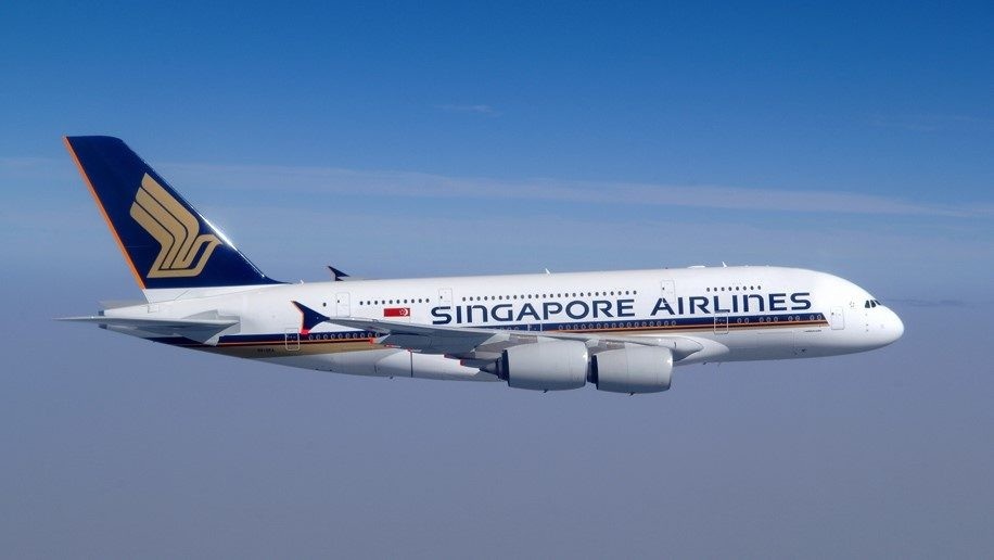 Singapore Airlines A380. (Singapore Airlines photo)