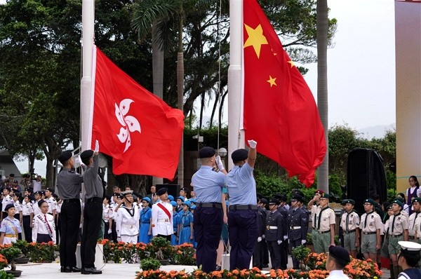 All primary and secondary schools in Hong Kong ordered to raise Chinese flag and sing national anthem on certain occasions.