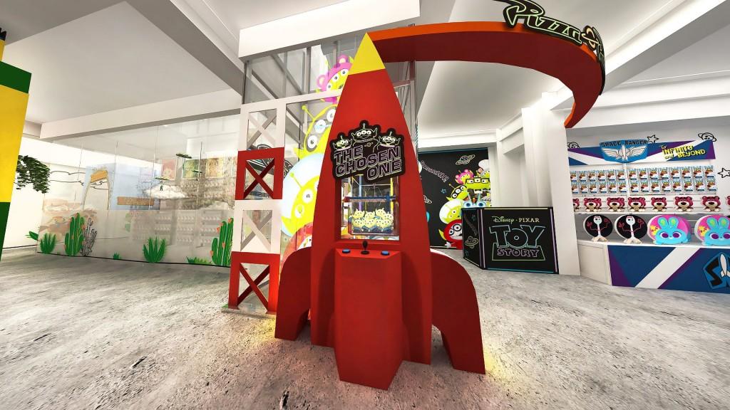 玩具總動員》主題店將於台灣登場(圖/主辦單位)
