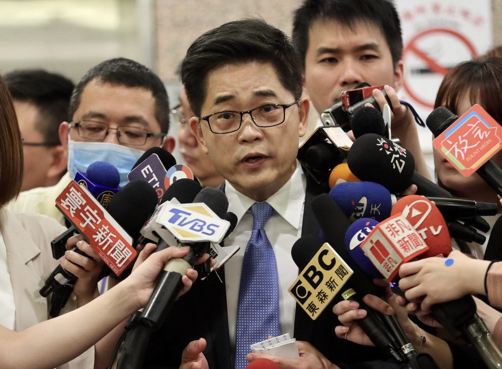 Former Taitung County chief Justin Huang on Friday (June 19).