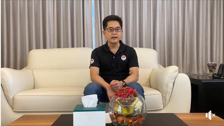 黃健庭20日透過臉書發表婉謝聲明