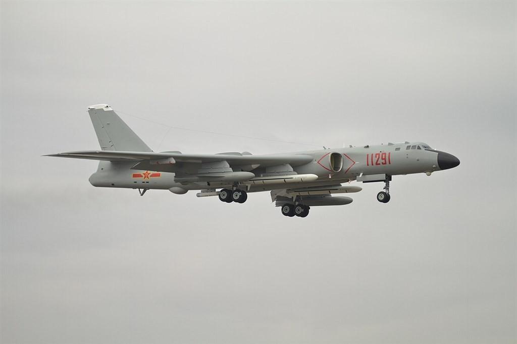 Xian H-6 bomber.