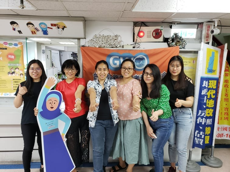GWO staff members and volunteers (Taiwan News, Tim Rinaldi photo)