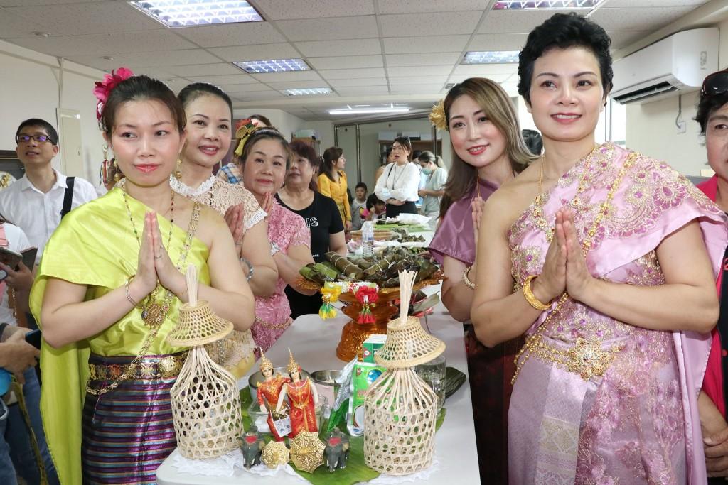 參加活動的泰國新住民(翻攝自桃園市新移民女性關懷協會臉書)