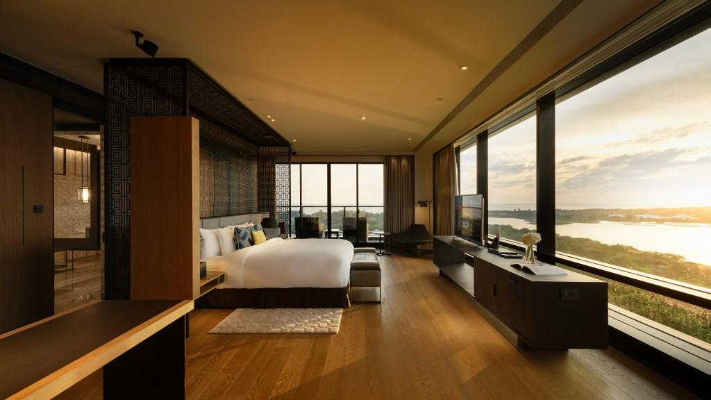 來台南當常客 有機會入住大員皇冠55坪總統套房