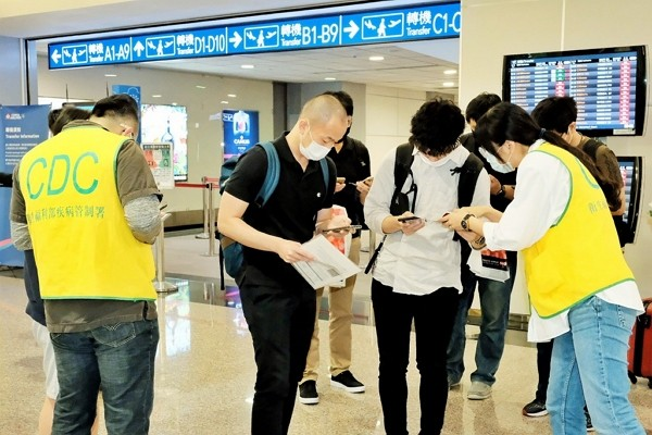 Taiwan CECC says general virus testing for travelers time-consuming and unnecessary.
