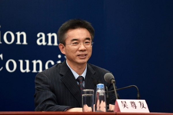 Chinese CDC Chief Epidemiologist Wu Zunyou. (Facebook photo)