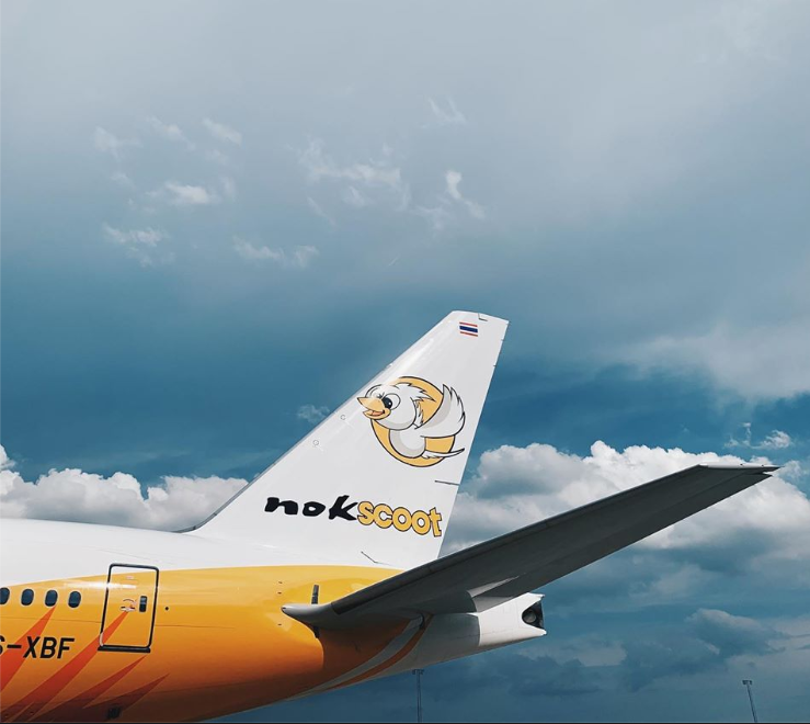 Thailand's NokScoot also had flights to Taiwan (screenshot of NokScoot Facebook page)