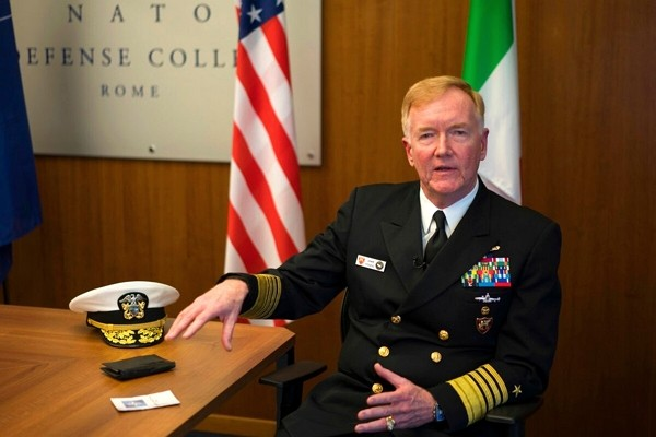 US Navy Admiral James G. Foggo. (NATO photo)