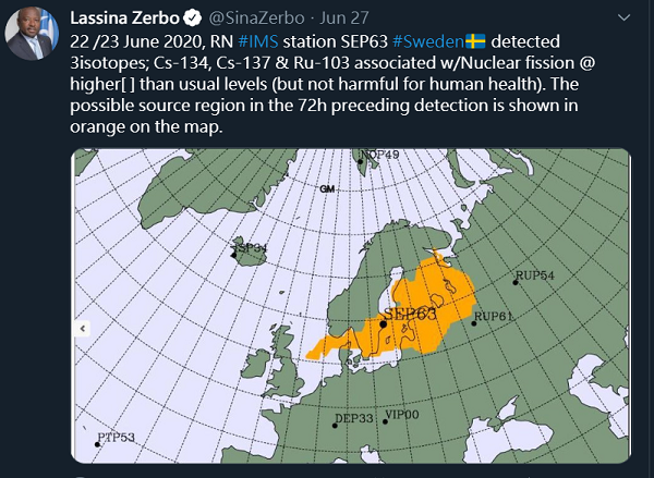 圖片翻攝自Lassina Zerbo的推特