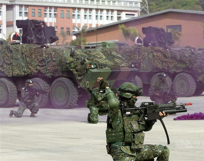 36th Han Kuang military exercise will last from Monday(July 13) to Friday (July 17)
